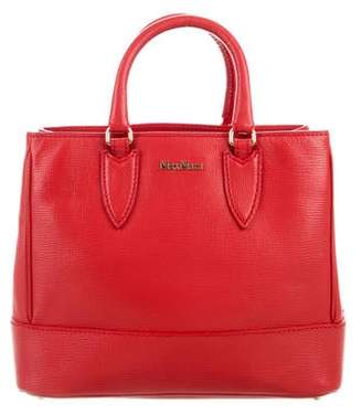 Max Mara Leather Satchel Bag