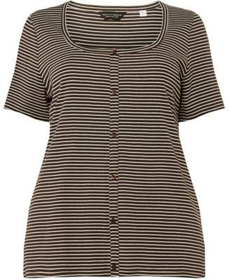 Dorothy Perkins Womens **Dp Curve Stripe Button Down Top
