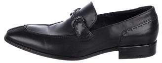 HUGO BOSS Boss by Leather Horsebit Loafers
