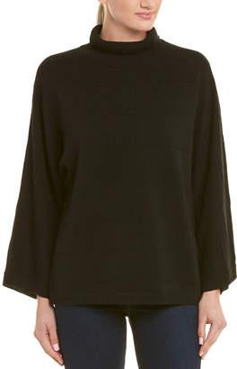 In Cashmere Incashmere Mock Collar Cashmere Sweater