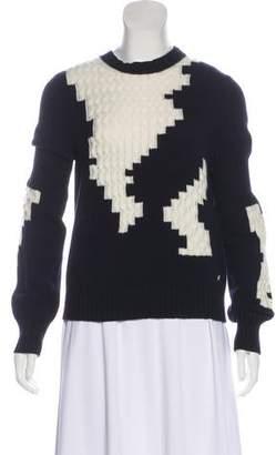 Chanel Cashmere Intarsia Sweater