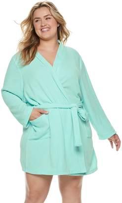 Sonoma Goods For Life Plus Size SONOMA Goods for Life Chenille Wrap Robe