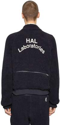 Undercover Embroidered Tech Terrycloth Sweatshirt