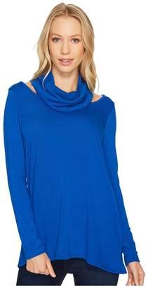Karen Kane Cut Out Cowl Neck Sweater Women's Sweater