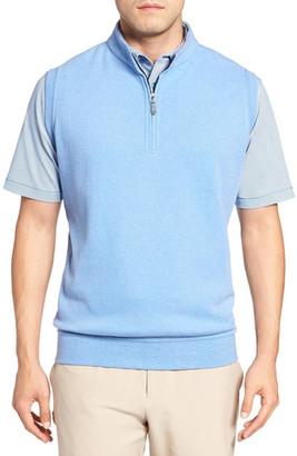 Peter Millar Zip Front Fleece Vest $125 thestylecure.com