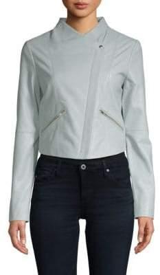 Veda Leather Jam Jacket