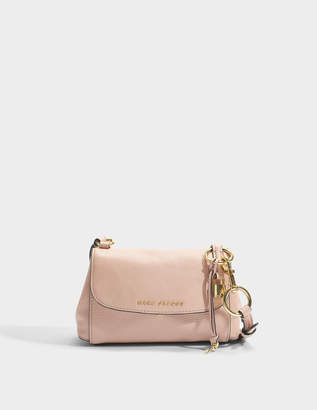 Marc Jacobs The Mini Boho Grind Crossbody Bag in Rose Cow Leather