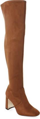 BCBGeneration Chocolate Aliana Stretch Microsuede Boots