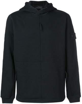 Stone Island zipped hooded sweatshirt