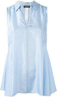 Twin-Set sleeveless shirt $148.65 thestylecure.com