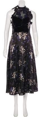 Rebecca Taylor Midi-Length Evening Dress w/ Tags