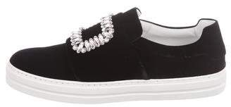 Roger Vivier Sneaky Viv Slip-On Sneakers w/ Tags