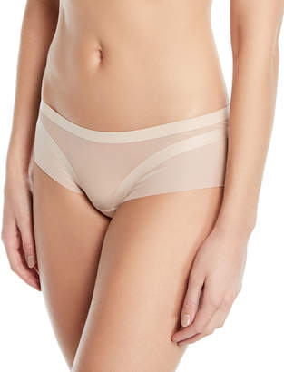 Livy NY Day Tulle-Trim Shorty Briefs