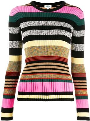 Kenzo long sleeves striped jumper