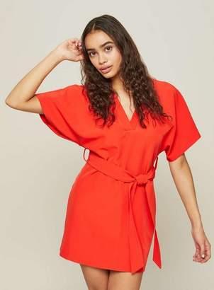 Miss Selfridge Petite structured smart shift dress