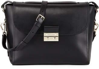 Cole Haan Lock Leather Satchel Bag