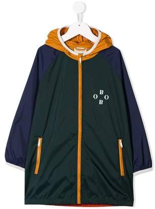 Bobo Choses paneled colour block raincoat