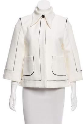 Chanel Structured Pique Jacket