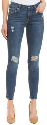 7 For All Mankind Seven Ankle Distressed Skinny