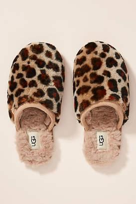 UGG Leopard Fluffette Slippers