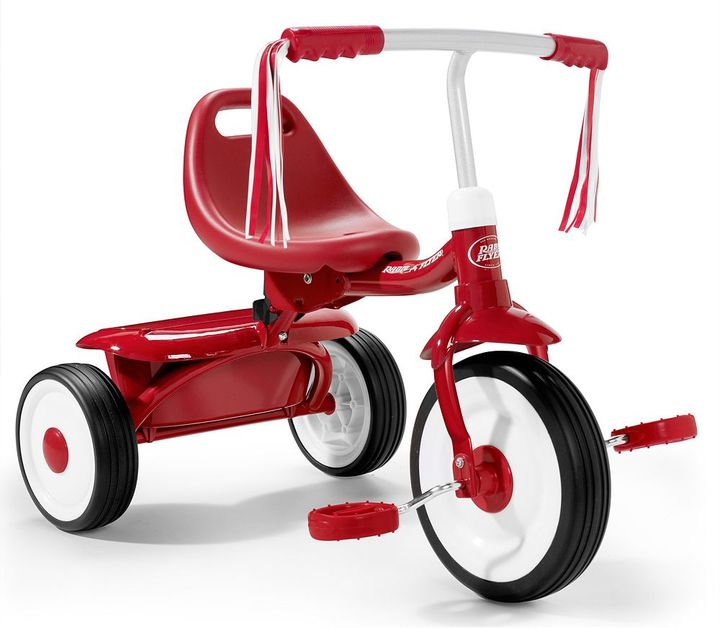 Radio Flyer Fold 2 Go Tricycle