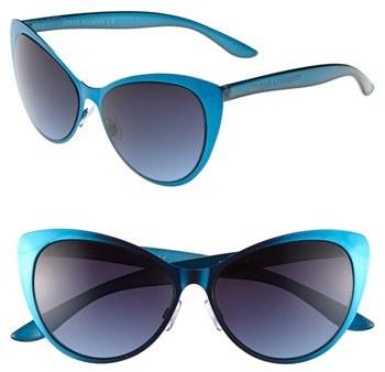 Steve Madden 'Extreme' 65mm Cat Eye Sunglasses