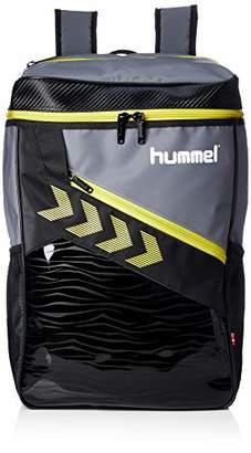 Hummel (ヒュンメル) - [ヒュンメル]リュックサック ターポリンバックパック グレー×イエロー