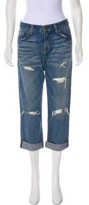 Current/Elliott Mid-Rise Boyfriend Jeans