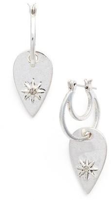 Women's Luv Aj Starburst Double Drop Earrings $70 thestylecure.com