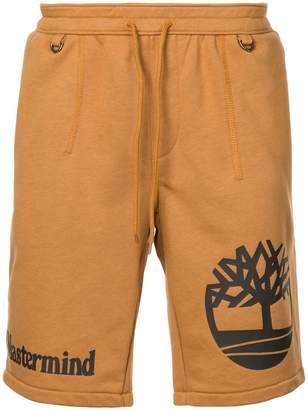 Timberland logo print shorts