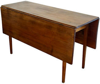 ... One Kings Lane Vintage Antique Shaker Pecan Gateleg Table