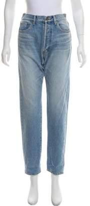 Saint Laurent 2016 High-Rise Jeans