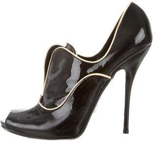 Gucci Patent Leather Bootie