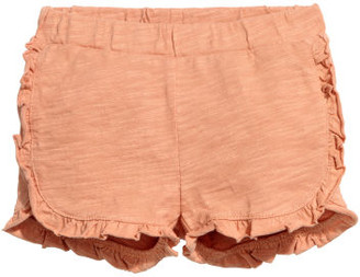 H&M Frilled shorts