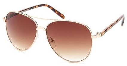 Charlotte Russe Animal-Side Aviator Shades