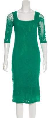 Jean Paul Gaultier Midi Knit Dress