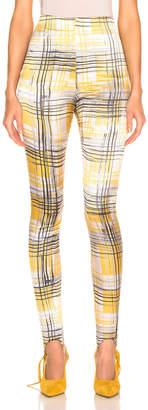 Silvia Tcherassi SILVIA TCHERASSI Fresia Legging in Citrus Checkered | FWRD