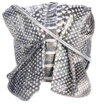 Carlos Falchi Python Butterfly Bag