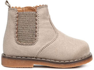 H&M Boots with a zip - Brown
