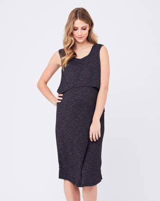 Ripe Maternity Swing Back Midi Dress