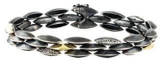Alexis Bittar Diamond Slate Marquise Tennis Bracelet