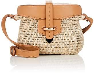 Khokho Women's Jabu Mini Straw & Leather Basket Bag