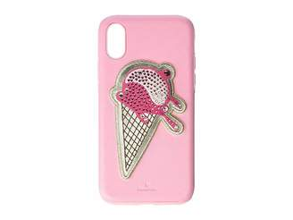 Swarovski No Regrets Ice Cream Smartphone Case with Integrated Bumper, iPhone(r) X/XS