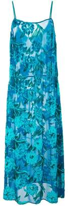 Fleur Du Mal fil coupe tea length dress