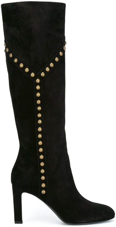 Saint Laurent 'Grace 105' Y studded boots
