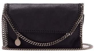 Stella Mccartney - Falabella Faux Leather Mini Cross Body Bag - Womens - Navy