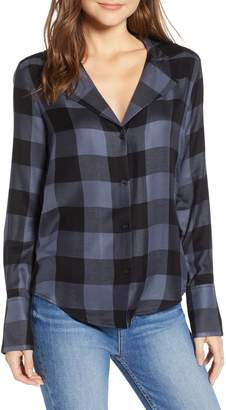 Paige Elora Buffalo Plaid Shirt