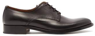 Givenchy Rider Leather Derby Shoes - Mens - Black