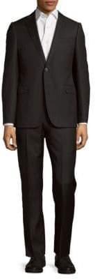 Armani Collezioni Pinstriped Wool Suit