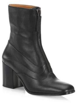 Chloé Qacey Leather Booties